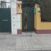 Lugar donde ocurrieron los hechos en la calle Arrayanes
