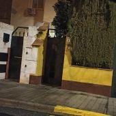 Lugar donde ayer ocurrieron los hechos en la calle Arrayanes