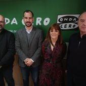 Felip Sánchez, Jose Navarro, Aurora Rodil y José Ruiz