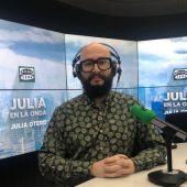 Raúl Navarro en Julia en la onda