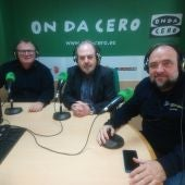 Manuel Ramos, Salvador Sánchez y Joaquín Garrido