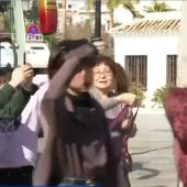 Un grupo de turistas chinos en Mijas