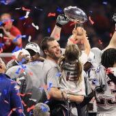 Tom Brady celebra la victoria en la Super Bowl de 2019