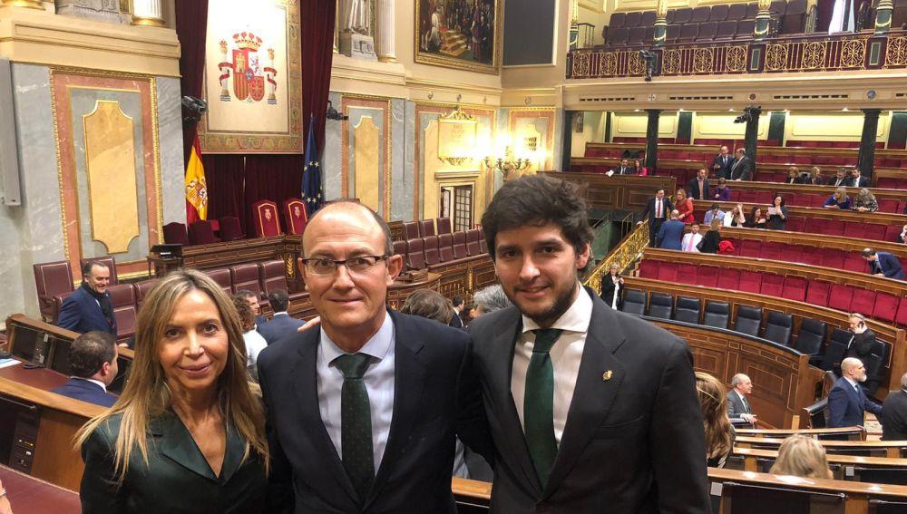 Senadores palentinos del PP