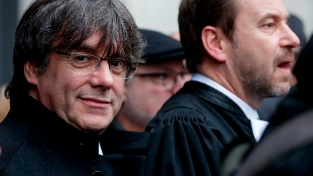 Puigdemont paga su fianza de 4,1 millones de euros gracias a la solidaridad ciudadana