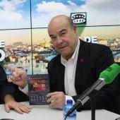 Carlos Alsina y Antonio Resines, en Más de uno