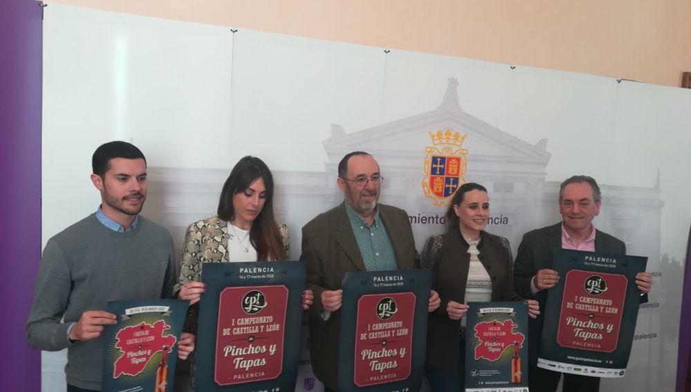 Presentado el Primer Campeonato Pinchos y Tapas Palencia