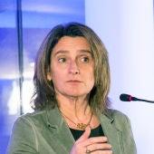 La vicepresidenta del Gobierno de España y ministra para el Reto Demográfico, Teresa Ribera
