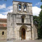 Fachada del Santuario de Estíbaliz en Álava