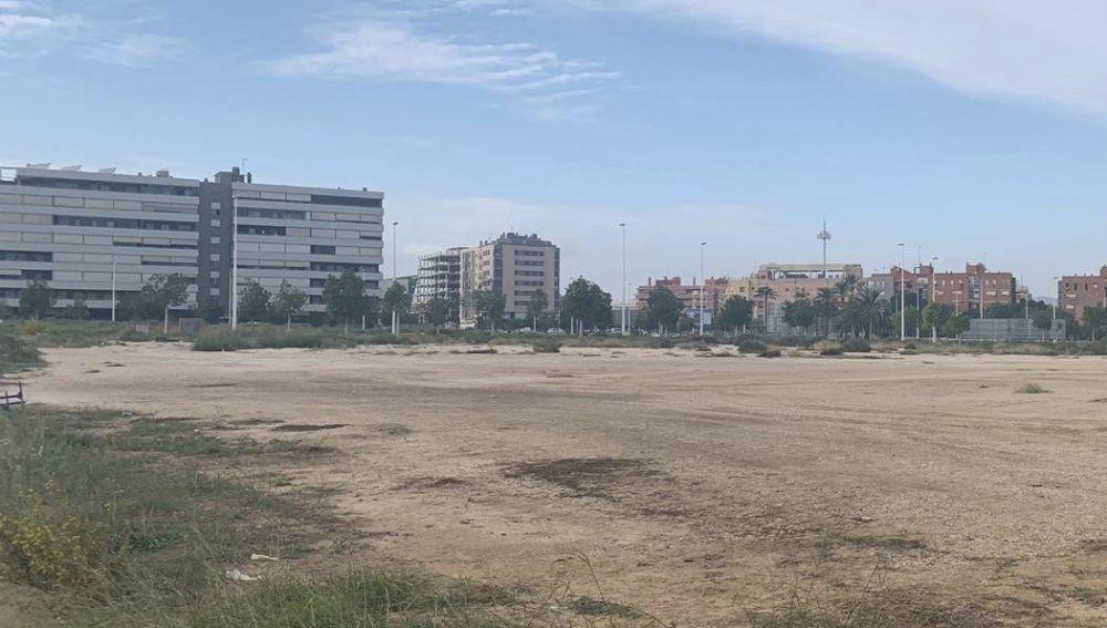 Parcela en la que se va a construir el IES 'Periodista Vicente Verdú' de Elche.
