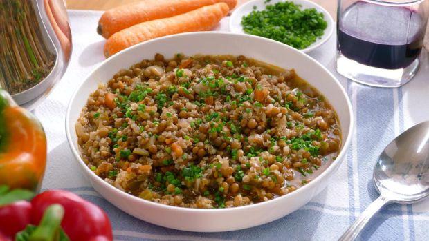 Las recetas de Robin Food: Lentejas con gallina