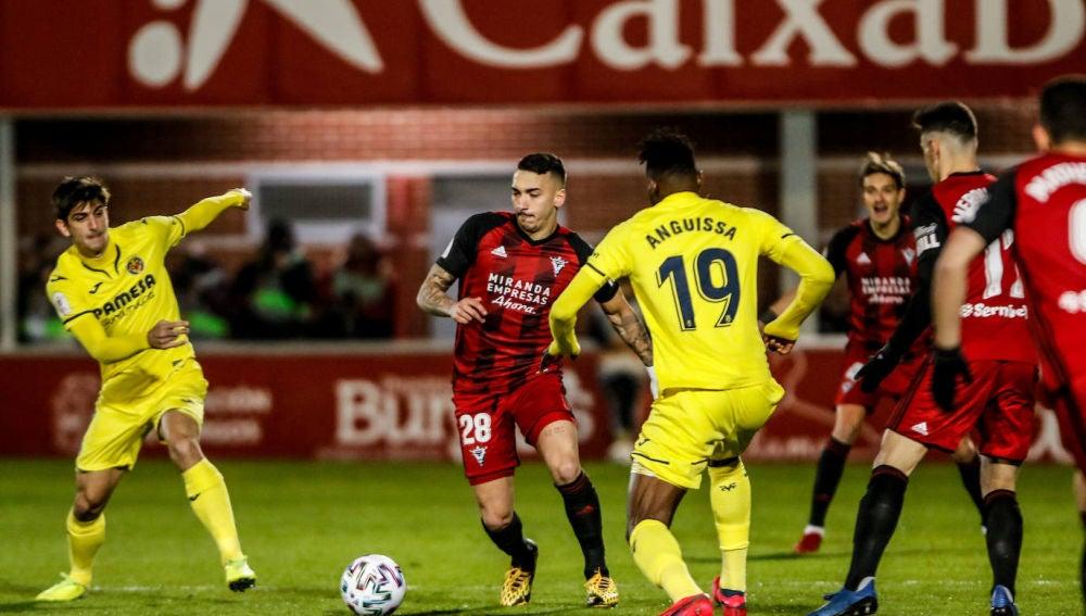 El Villarreal en Miranda.