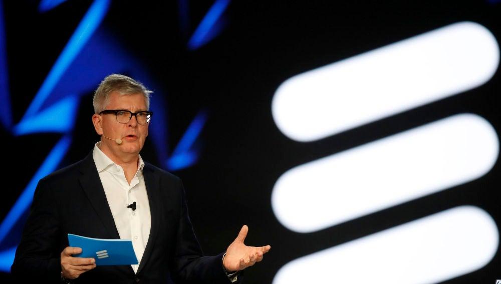 El consejero delegado de Ericsson, Börje Ekholm