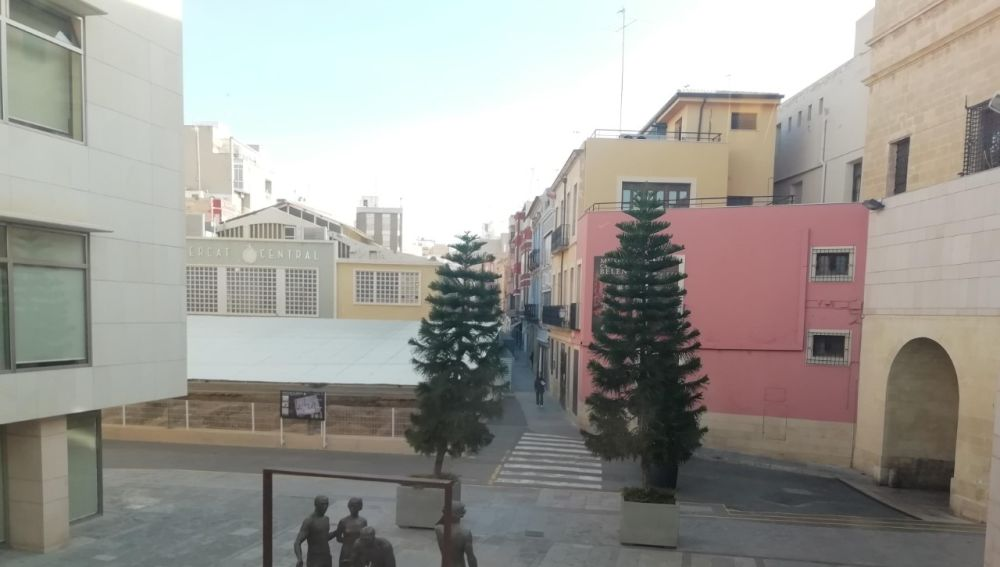Plaza de la Fruita de Elche.