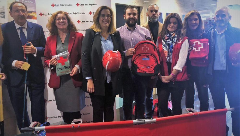 Diputación y Cruz Roja presentan una Jornada de Formación en Equipos de Respuesta Básica de Emergencia
