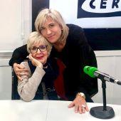 Concha Velasco, con Julia Otero en Julia en la onda