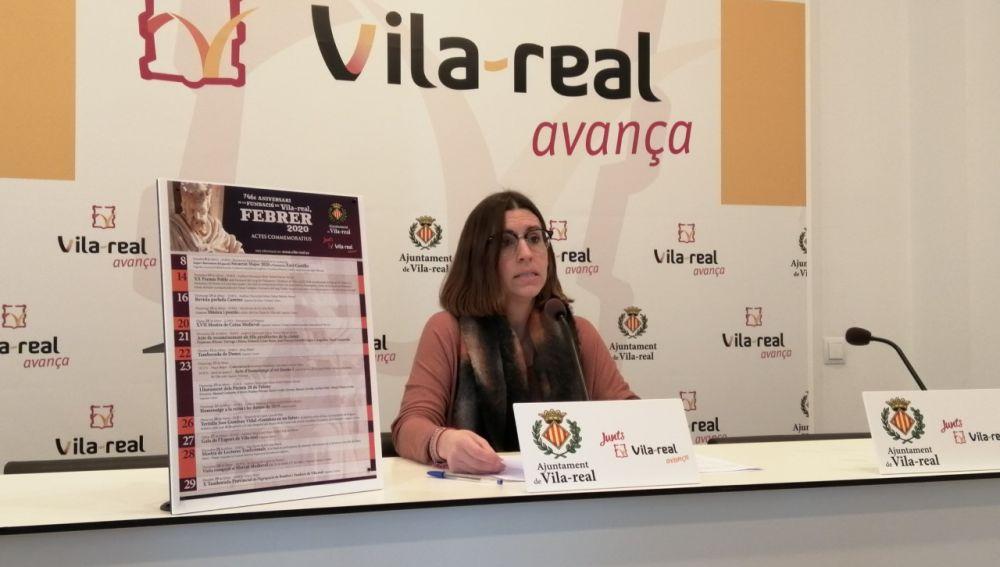 La regidora de Relacions Institucionals, Noelia Samblas ha presentat el programa d´actes per celebrar l´aniversari de la ciutat.