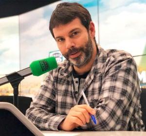 Rubén Bartolomé en los estudios de Onda Cero