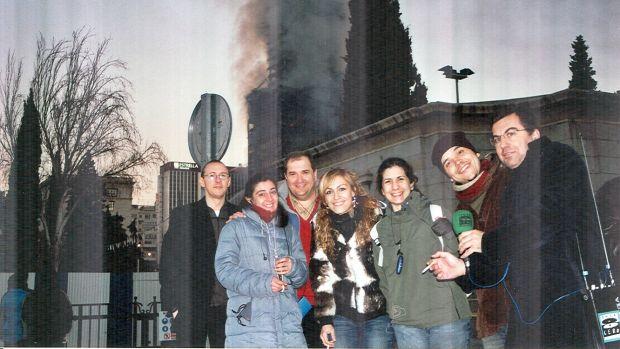 Así contaron Carlos Alsina y el equipo de informativos de Onda Cero el incendio del Windsor