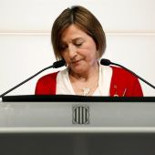 La expresidenta del Parlament, Carme Forcadell