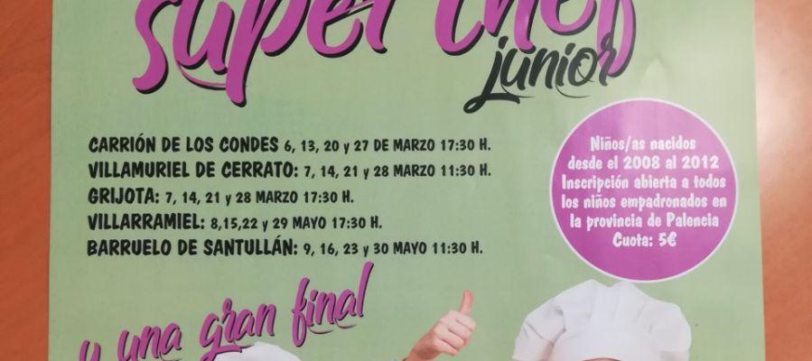 """Carrión, Villamuriel, Grijota, Villarramiel y Barruelo acogen """"Super Chef Junior"""""""
