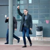 Jordi Cuixart sale de la cárcel de Lledoners para un permiso de 72 horas