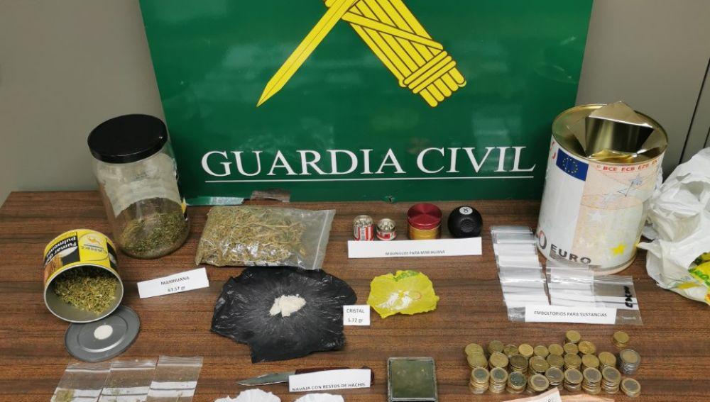 Tres detenidos por trafico de drogas en Palencia
