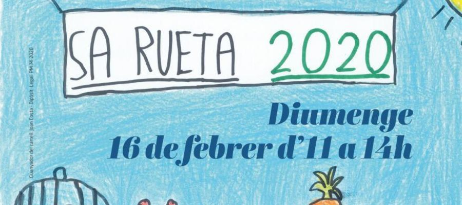 Cartel de Sa Rueta de Palma 2020