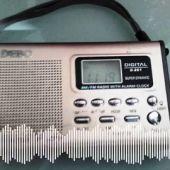 La radio, el método de relajación de Antonio