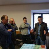 Reunión do Conselleiro de Medio Rural con Alcalde de Pontedeva