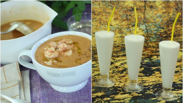 """Las recetas de Robin Food: Sopa de pescado """"a toda pastilla"""" y sorbete """"Labordeta"""""""
