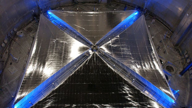 Velas solares, un sistema de propulsión láser para naves espaciales, por Daniel Marín