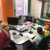 Alumnos del CP Miguel de Cervantes de Gijón