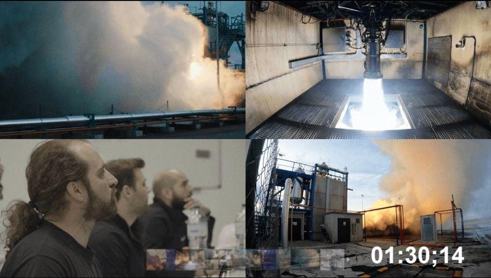 El ensayo tuvo lugar en el aeródromo de Teruel, hasta donde se desplazó el equipo de trabajo de PLD Space.