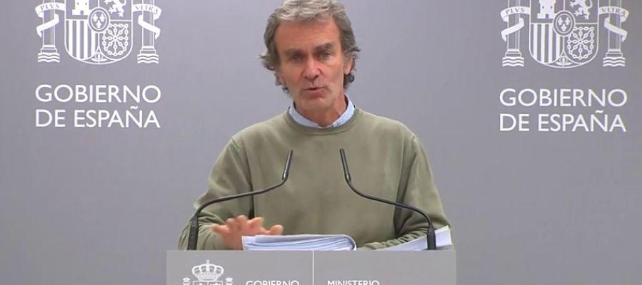 """REEMPLAZO Fernando Simón: """"Ahora mismo el escenario por coronavirus no plantea una situación de suspensión de actos públicos"""""""