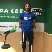 Mario Vilella, en su última visita a los estudios de Onda Cero Elche.