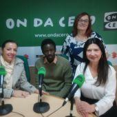 Jessica Piñero, Philippe Séne y Carmina Miralles con Mayte Vilaseca en Onda Cero Elche