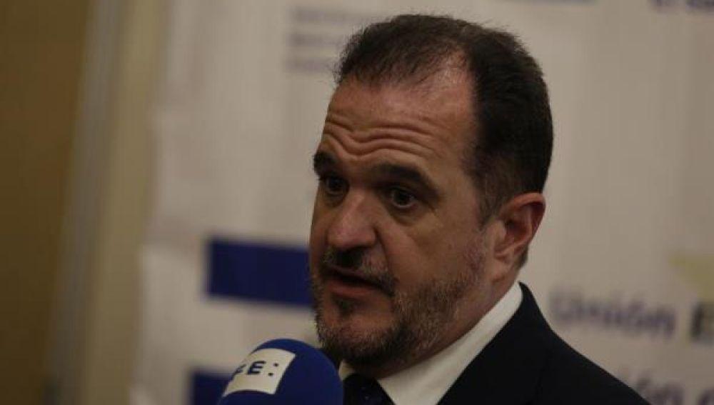 El candidato a lehendakari de la coalición PP-Cs, Carlos Iturgaiz.