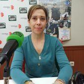 María Tomé, durante la entrevista en Onda Cero Ciudad Real