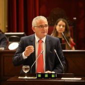 Jaume Font, en una imagen de archivo en el Parlament balear.