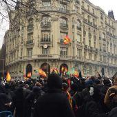Manifestación Jusapol por la equiparación salarial