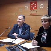 Imagen de archivo: los populares Vicent Sales y Elena Vicente-Ruiz.