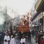 Trono de la Hermandad de la Sagrada Lanzada de Elche.