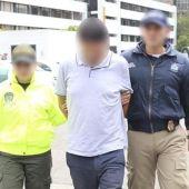 Detención en Colombia de Carlos García Roldán, conocido como 'Charly', presunto cabecilla de la estafa inmobiliaria de Lujo Casa, en febrero de 2019.