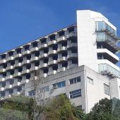 Fachada del hospital en A Coruña
