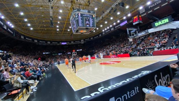 Estadio del Valencia Basket