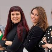 Mireia Roigm Lorena Pardo, Alicia Llop y Marta Fullera.