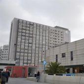 Vista general del Hospital universitario de La Paz en Madrid