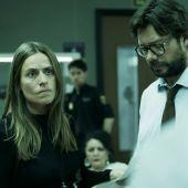 Raquel Murillo y el Profesor en 'La Casa de Papel'