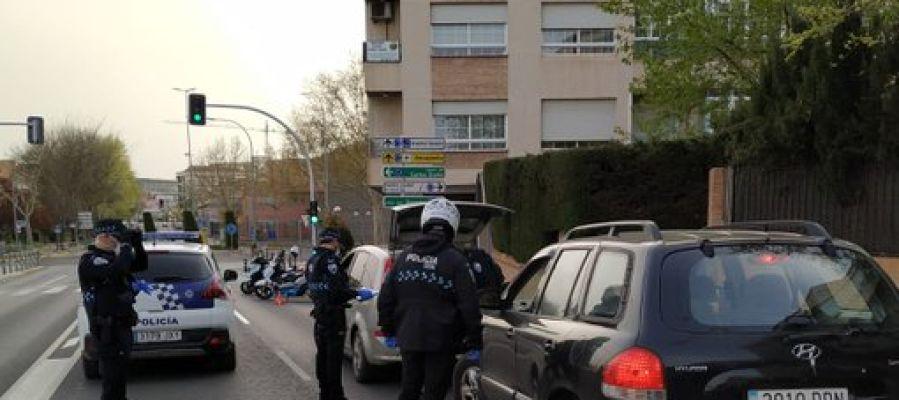 La Policía Local de Ciudad Real realiza controles de movilidad a diario